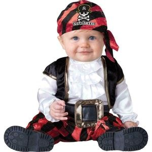 NEW Pint Size Pirate Halloween Costume Baby 12-18m